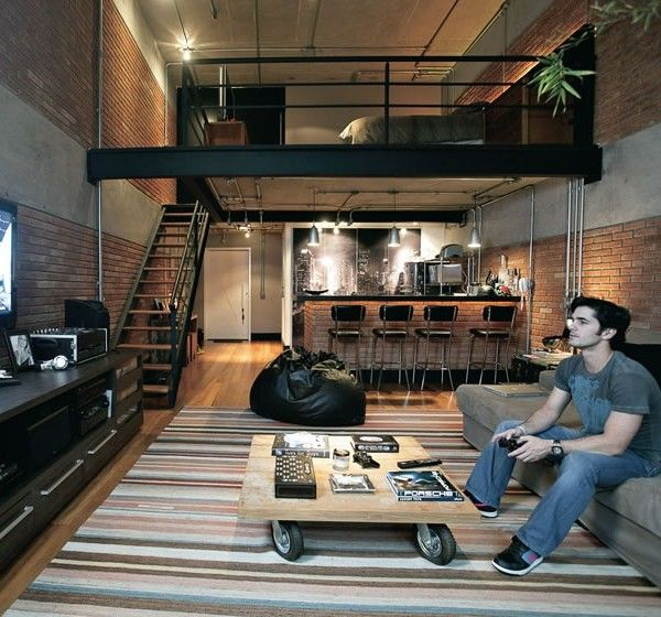 Modern | ombiaiinterijeri | Loft house, Loft interiors, Loft desi