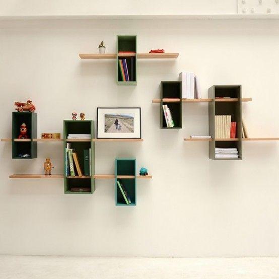 Max Shelves: A Reinterpretation Of A Mid-Century Bookcase | Mueble .