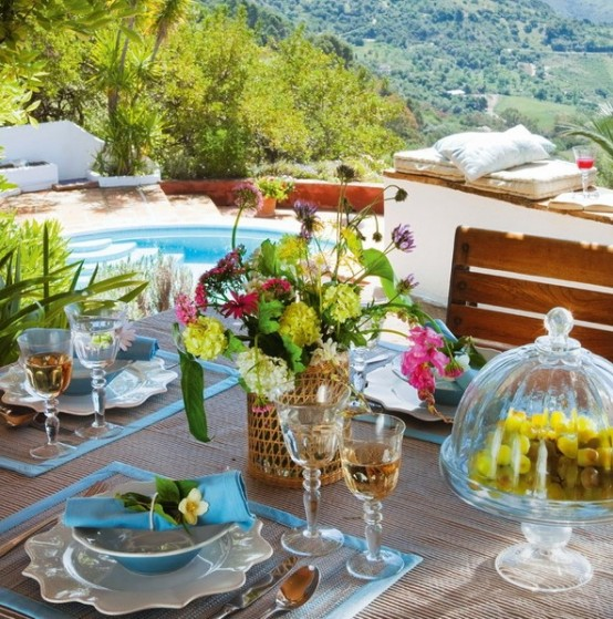 Mediterranean Holiday Home With Moroccan Touches - DigsDi