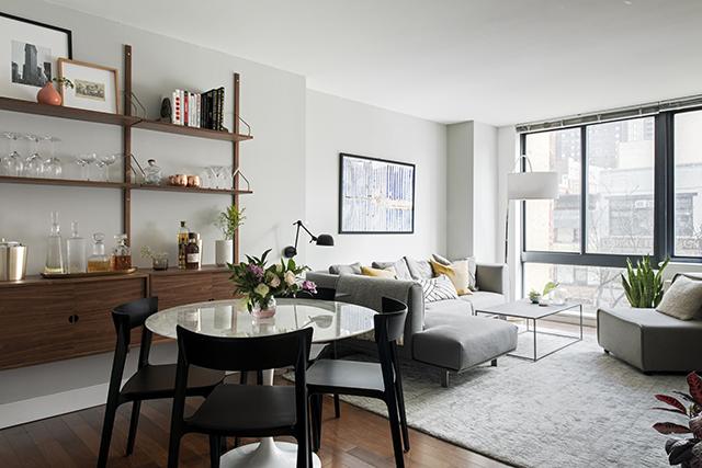 Inspiring Warm Mid-Century Modern Apartment Interior Design .