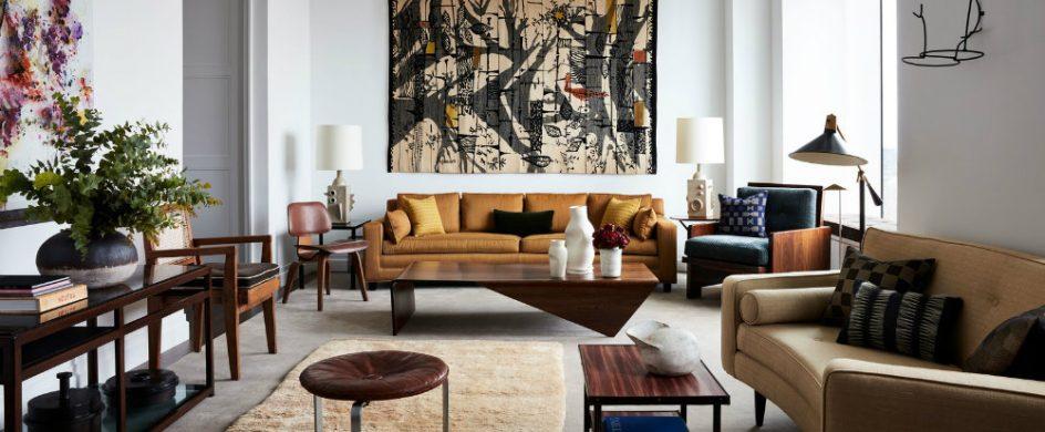 Explore This Mid-Century Apartment In Park Avenue Tower | New York .