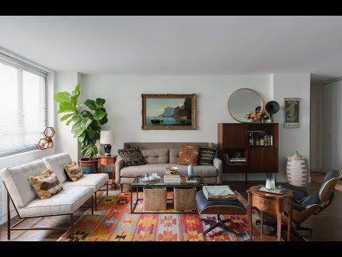 Eclectic Mid-Century Apartment, New York - YouTu