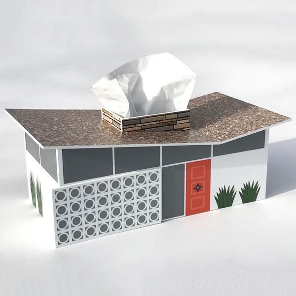 Midcentury Butterfly House Tissue Box Cover – thehuntingtonstore.o