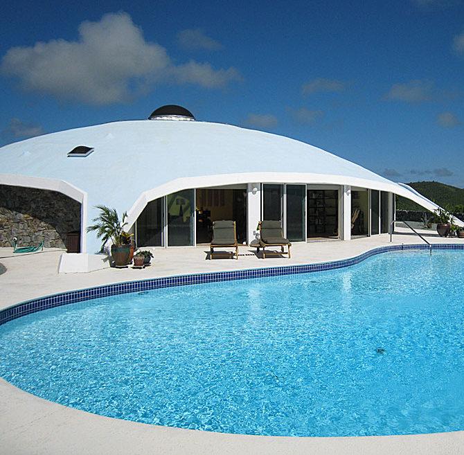 Mid-Century Modern Dome on St. Croix - $1.699 Million - Modern .