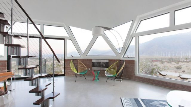 Pavlina Williams transforms mid-century dome house with angular .