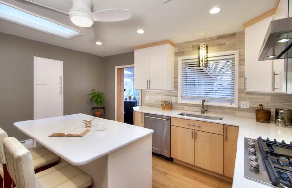 Mid-Century Kitchen Redesign | Kitchen Rehab Compa
