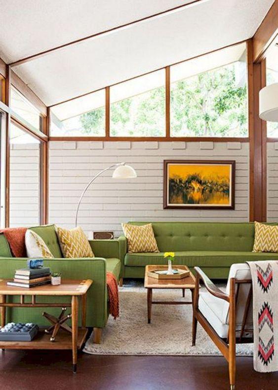 90 Stylish Mid-Century Living Room Design Ideas - DigsDi