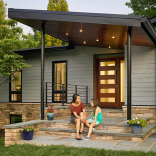 75 Beautiful Mid-Century Modern Exterior Home Pictures & Ideas .