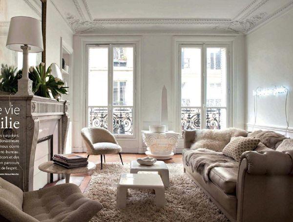 INTERIORS TO INSPIRE :: MODERN NEUTRALS IN PARIS | coco+kelley .
