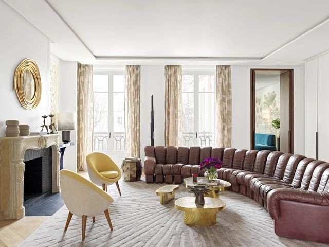Le Berre and Vevaud Paris Apartment -19th-Century Paris Lo