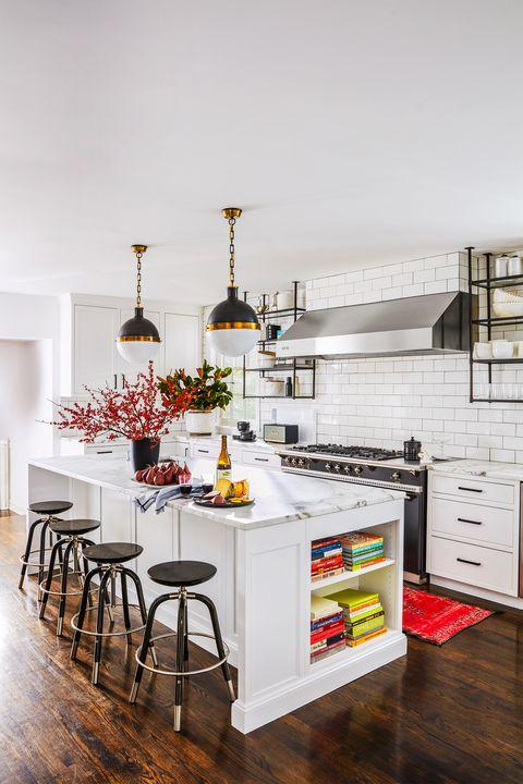 20 White Kitchen Design Ideas - Decorating White Kitche