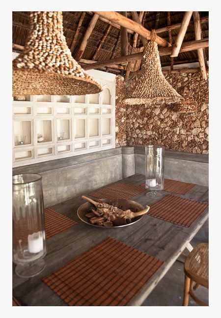 Stone House Style 3- ancient and modern minimalist designed beach .