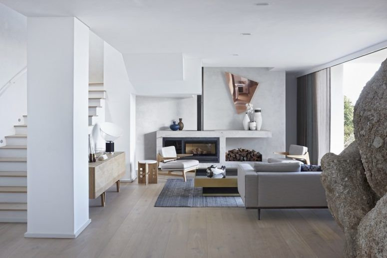 Minimalist African House With Natural Features | African house .