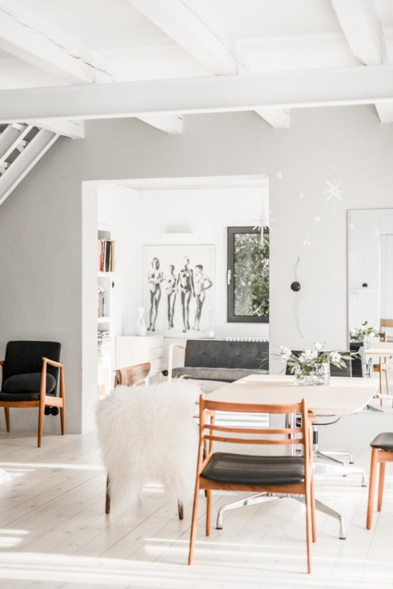 Minimalist And Airy White Loft From A Forge - DigsDi
