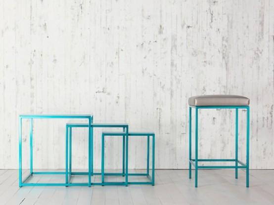 Minimalist And Colorful Cromatti Furniture Collection - DigsDi