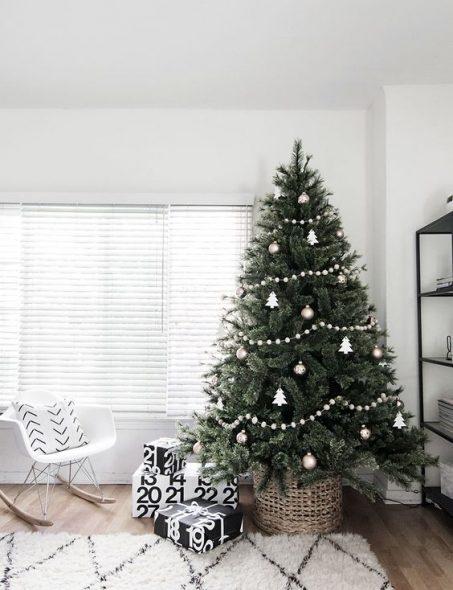 11 Minimalist Christmas Tre