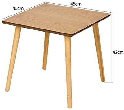Amazon.com: Home Side Tables Nordic Wood Retro Small Coffee Table .