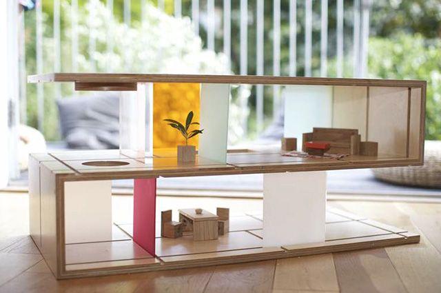 Modern Doll Houses - Mr Printables Blog | Minimalist coffee table .