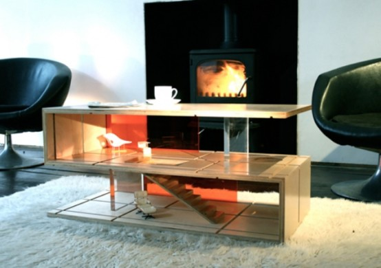 Minimalist Coffee-Table And Dollhouse In One - DigsDi