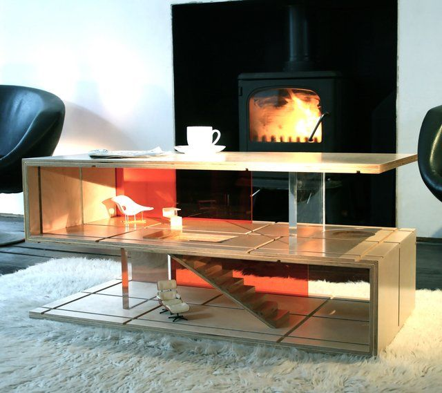 Qubis Haus by Amy Whitworth | Unusual coffee tables, Unique coffee .