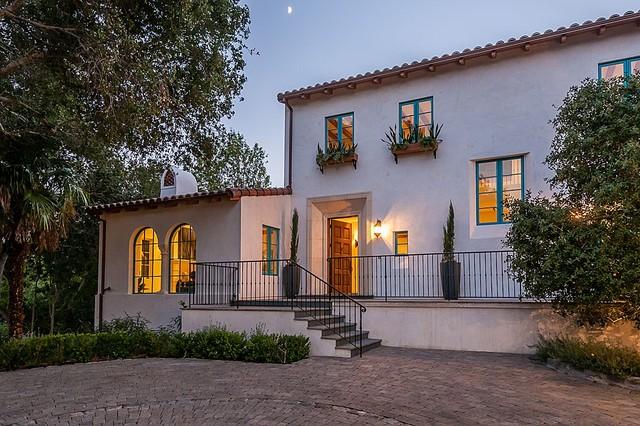 Minimalist Spanish Colonial - Mediterranean - Exterior - San .