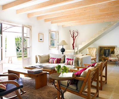 A minimalist country home   Living room decor country, Home, Old .