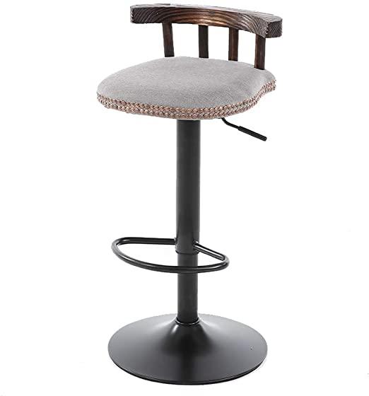 Amazon.com: WBBJBD High Chair, Bar Bar Chair Tea Shop Modern .