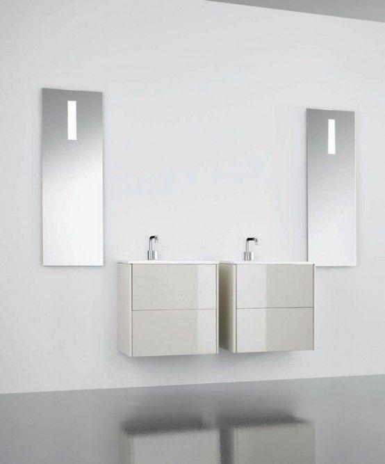 Genial Minimalistischen, Funktionalen Badezimmer Möbel – Flow und .