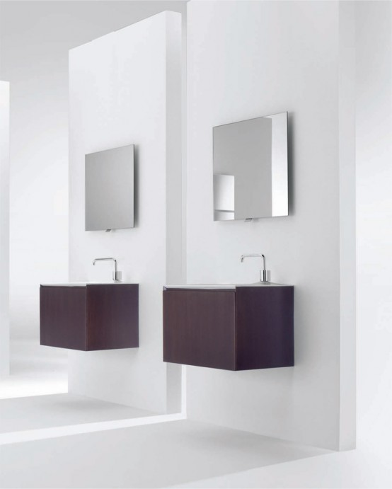 Minimalist Bathroom Furniture Low Reliable in Function And Soft .