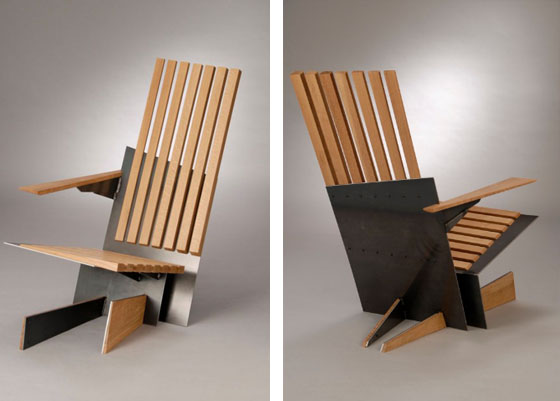 Inspiring minimalist wooden furniture collection by Andrew Kopp .