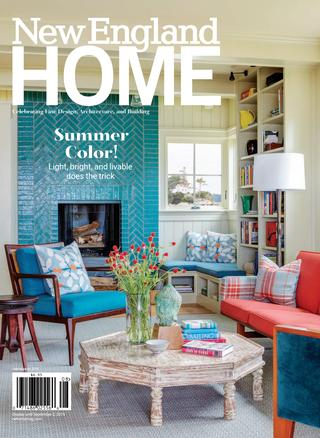 New England Home July - August 2019 by New England Home Magazine .
