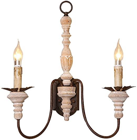 Amazon.com: Wsxxn American Minimalist Wooden Art/Wrought Iron .
