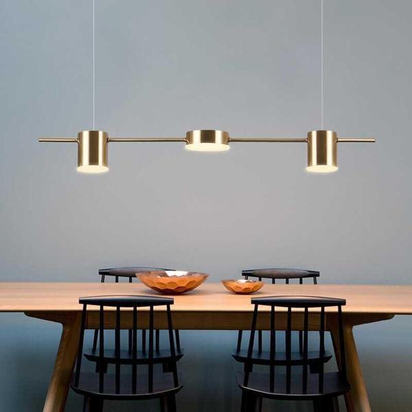Thaddeus - Modern Minimalist Hanging Light – Warm