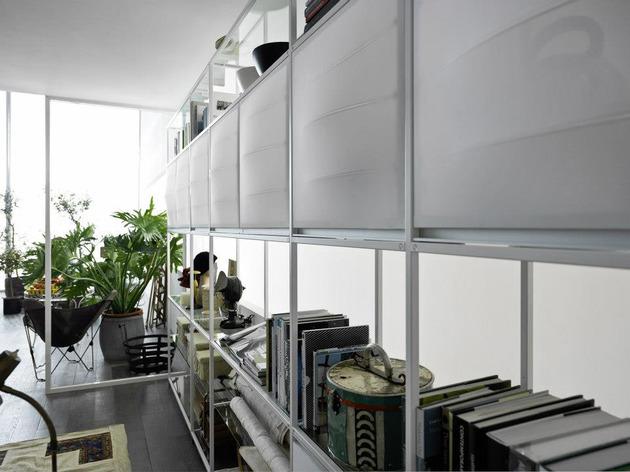Meccanica Kitchen with fabric doors | Designer Hom