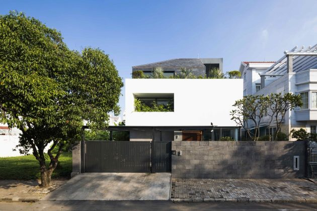 White Cube House by MM++ Architects in Ho Chi Minh City, Vietn