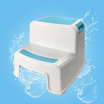Amazon.com: SangreAzul Plastic Multifunctional Step Stool,Modern .