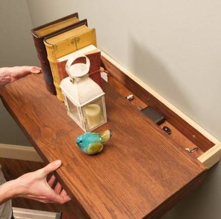 37 Trendy Hidden Storage For Valuables Drawers #storage | Floating .