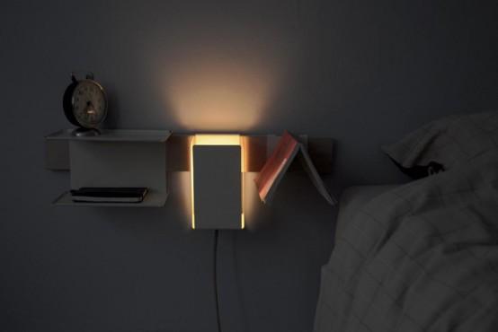 Minimalist Space-Saving Pippin Bedside - DigsDi