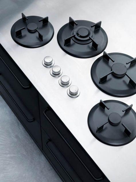 Minimalist Stainless Steel Kitchens by Digg   Kuchyně, Díl