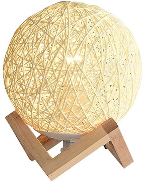 Starry Lighting SL-63324, Global Natural Wood Table Lamp, Modern .