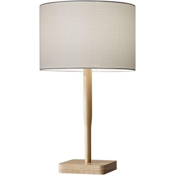 Elden Table Lamp Natural   Natural table lamps, Table lamp, Tab
