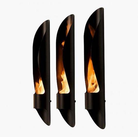 Minimalist Eco-Friendly Outdoor Fireplace | Upcycle/Repurpose/Eco .