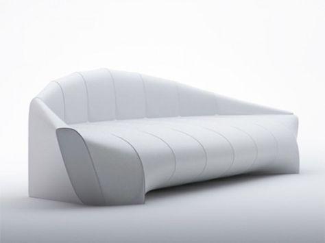 Minimalist Zeppelin Sofa Inspired By Iconic Airships | Minimalist .