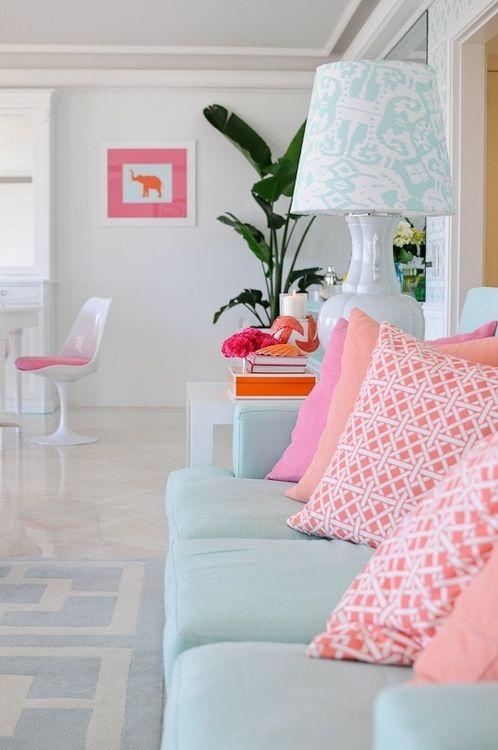 Mint Color In the Interiors: 35 Trendy Ideas - DigsDi