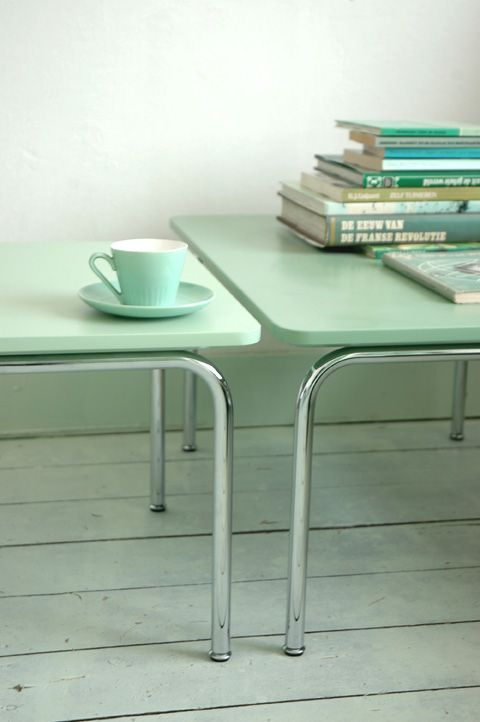 Mint Color In the Interiors: 35 Trendy Ideas | Pastel interior .