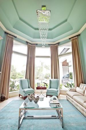 Mint Color In the Interiors: 35 Trendy Ideas - Pelfind | Mint .