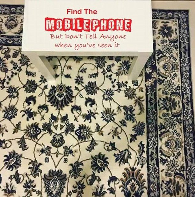 Hidden mobile on this carpet is driving the internet crazy | Daily .