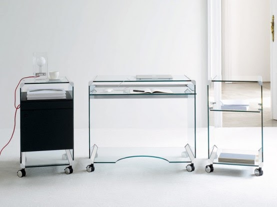 ROLANNO Blog's: Mobile Glass Workstation – Movie Office by .