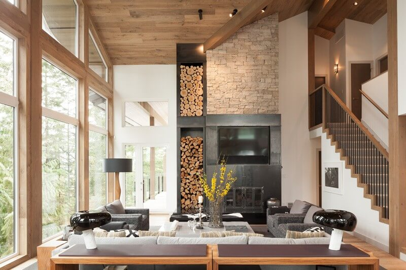 Enchanting Alpine Chalet Re-Design Started From the Kitchen .