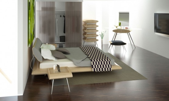Modern and Elegant Bedrooms by Answeredesign - DigsDi